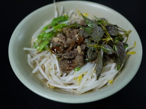 dried noodles mutton soup snack