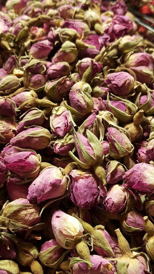 dried roses  tea  herbal