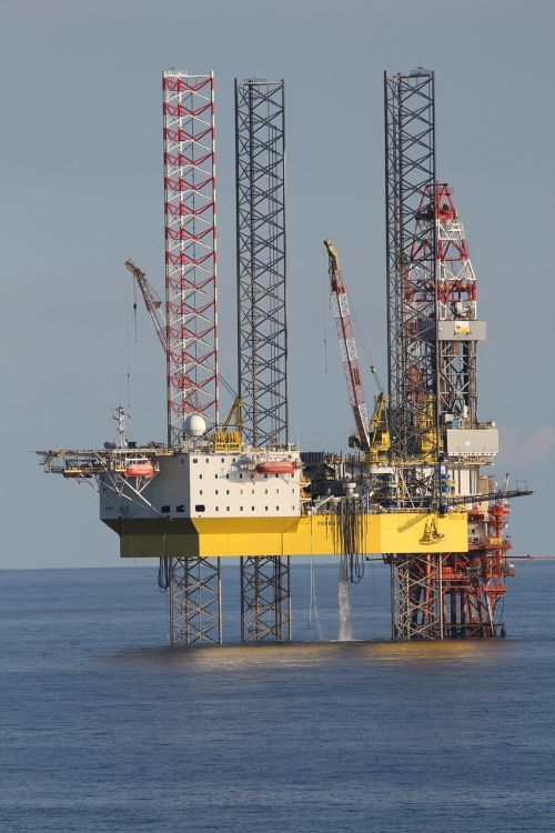 drilling rig sea platform