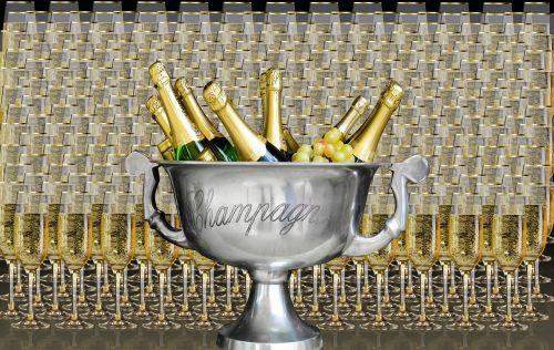 drink champagne celebrate