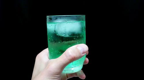 drink hand glass