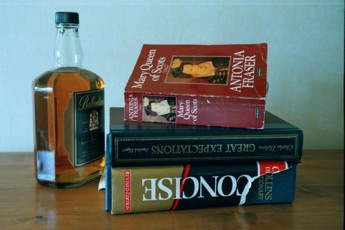 drink whisky books