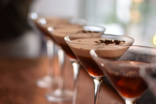 drink coctail chocolate