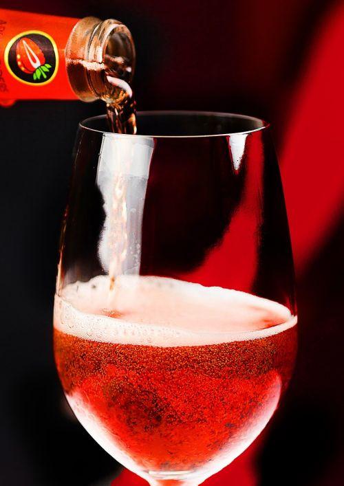 drink beverage red
