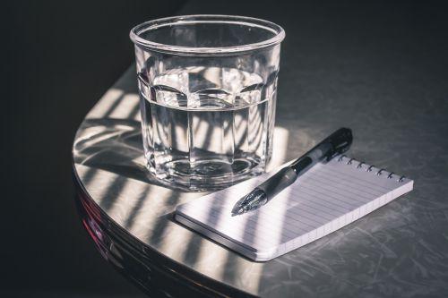 drink glass still life