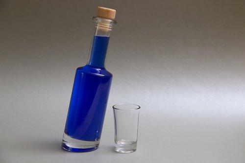 drink  bottle  blue