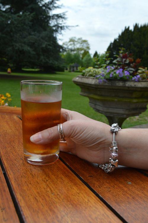drink glass hand