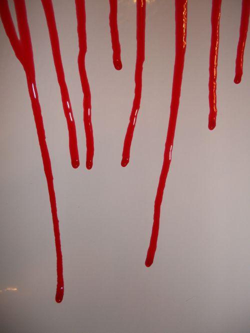 kraujas, įsiuvas, baisu, pilamas kraujas