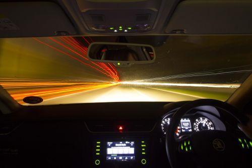 drive night car