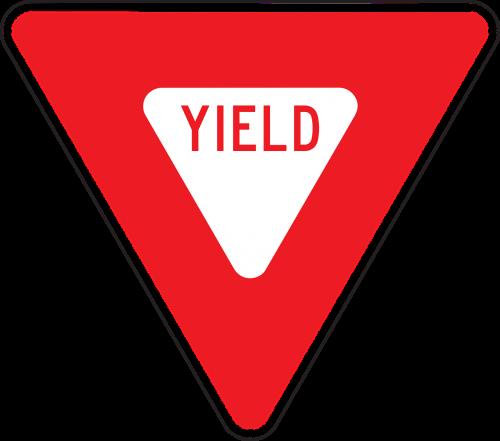 drive road yield
