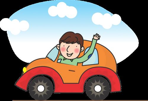 driving motoring a man driving