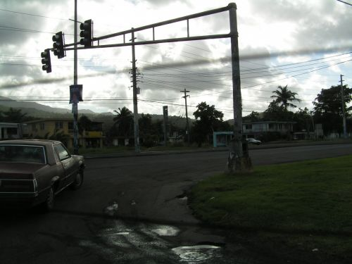 Driving In Puerto Rico Island
