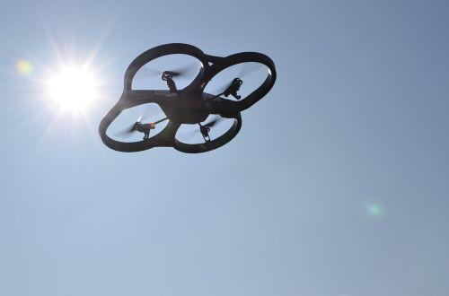 drone uav sky