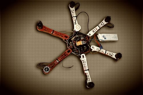 drone copter multicopter
