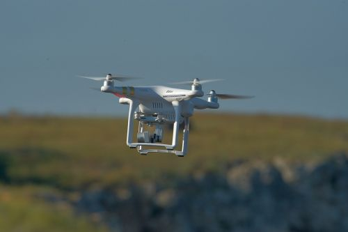 drone flying drone aerial