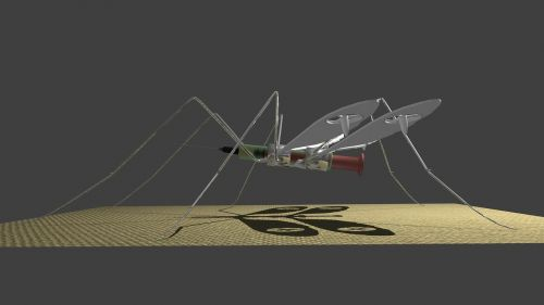 drone medical mosquito