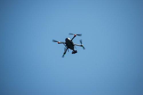 drone  surveillance  flight