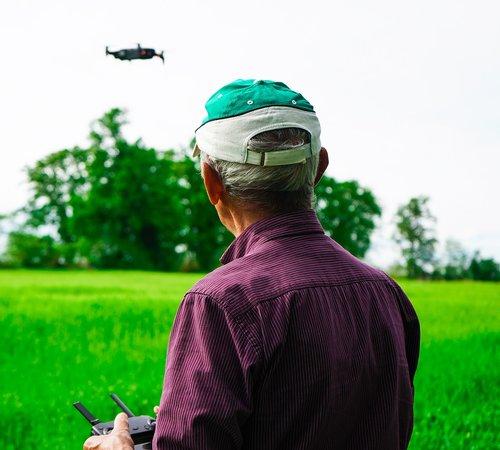 drone  the pilot drone  quadricopter