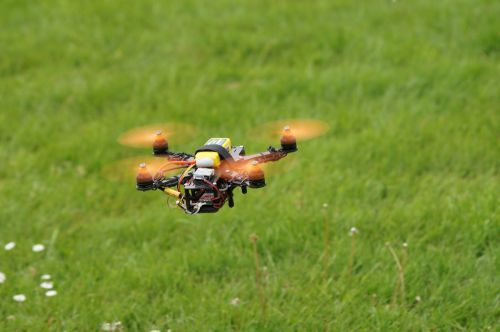 drone field multicopter