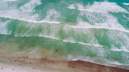 drone view aerial view sea