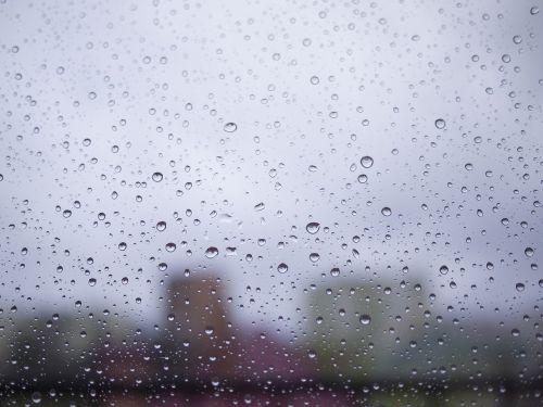 drop rain rainy