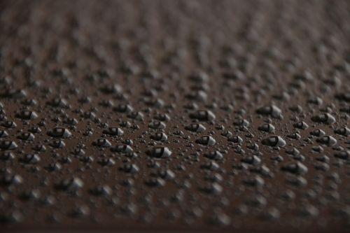 drops rain car