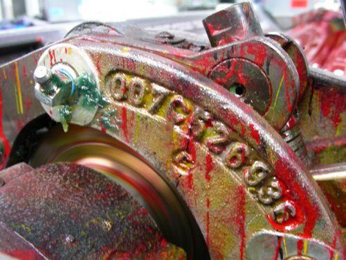 druckwerk printing machine inking