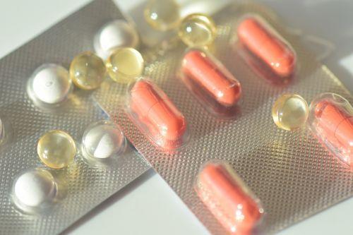 drug tablets blister