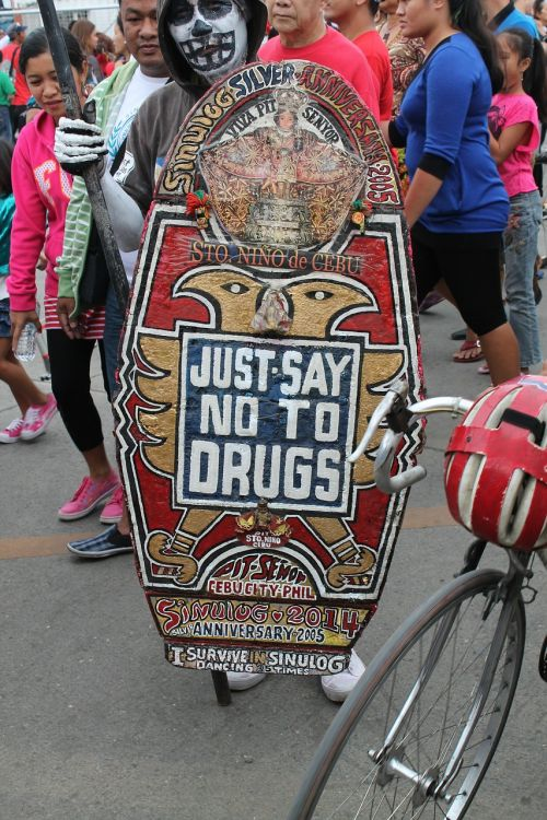 drug demonstration protest
