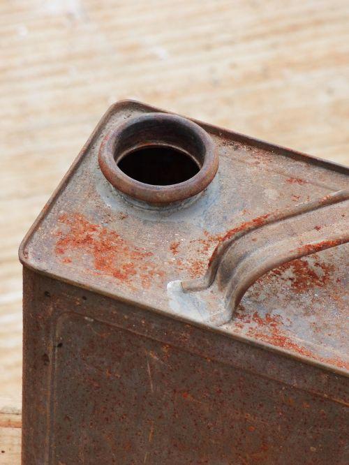 drum gasoline old