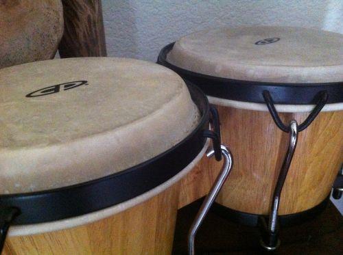 drum bongos drums