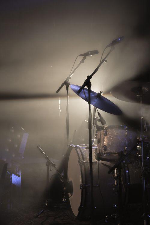 drum kit light spotlight