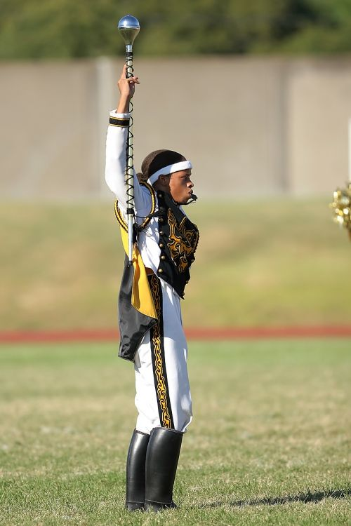 drum major band leader football game