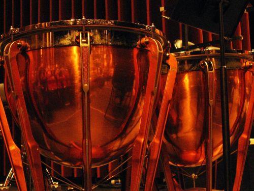 drums brass music