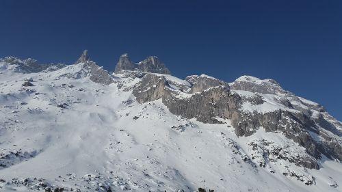 drusenfluh alpine mountains