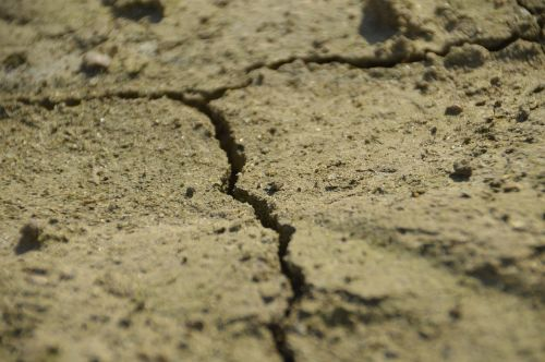 dry ground sand
