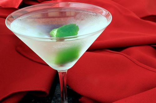 dry martini drink refreshing