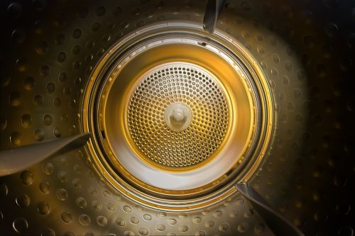 dryer in dryer laundry
