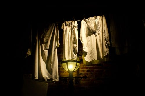 Drying The Laundry