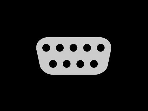 dsub d-sub serial port