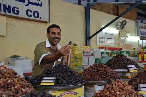 dubai fish market fruits plants