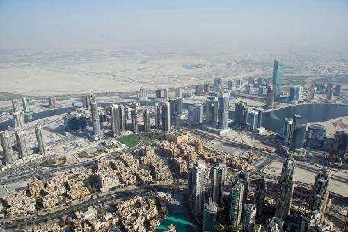 dubai u a e aerial photographs