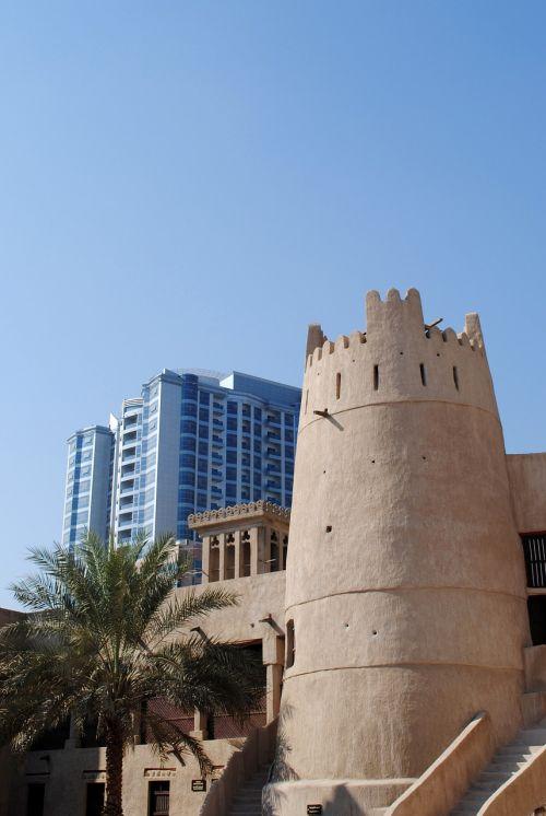 dubai emirates skyscrapers