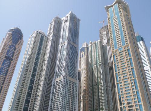 dubai skyscapers emirates