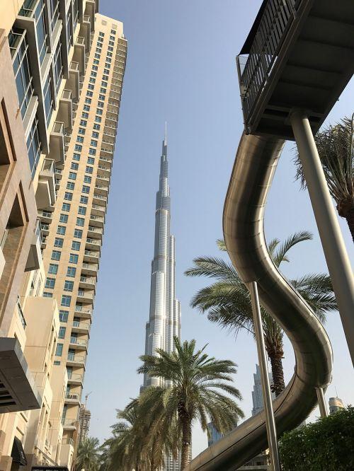 dubai burj khalifa skyscraper