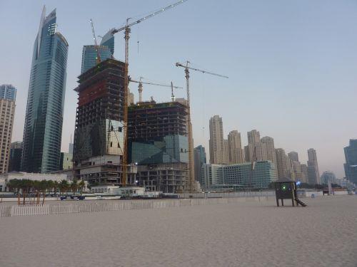 dubai beach emirates