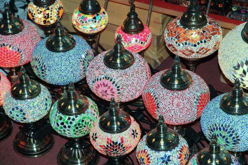 dubai lamps souvenir
