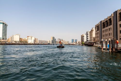 dubai creek river
