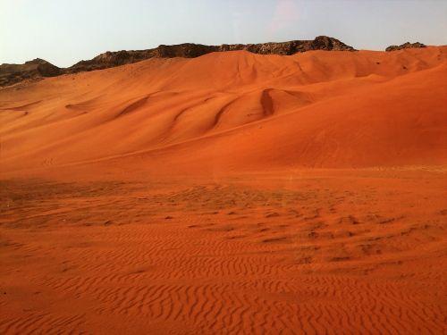 dubai desert safari rock