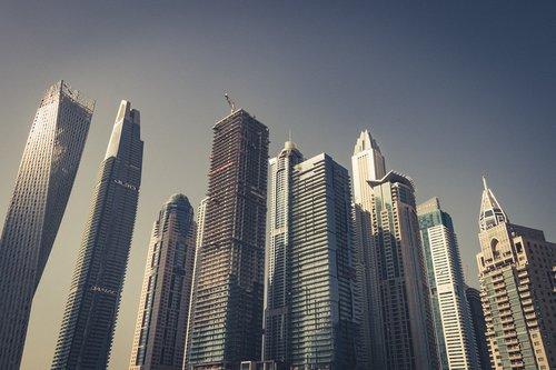dubai  skyscrapers  the skyscraper